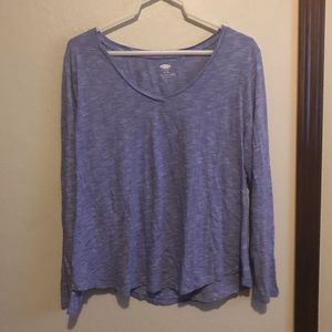 ❄️purple old navy long sleeve top